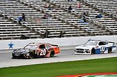 #20: Christopher Bell, Joe Gibbs Racing, Toyota Camry GameStop/Hello Neighbor, #00: Cole Custer, Stewart-Haas Racing, Ford Mustang Thompson Pipe Group
