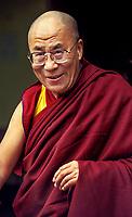 The Dalai Lama in Dharamsala, India 2003