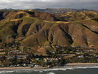 aerial photograph of the Western Malibu, Los Angeles County, California