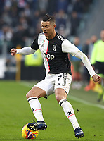 Calcio, Serie A: Juventus - Cagliari, Turin, Allianz Stadium, January 6, 2020.<br /> Juventus' Cristiano Ronaldo in action during the Italian Serie A football match between Juventus and Cagliari at Torino's Allianz stadium, on January 6, 2020.<br /> UPDATE IMAGES PRESS/Isabella Bonotto