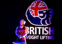 10 MAY 2014 - COVENTRY, GBR - Christie Marie Williams from Breezes Gym prepares to lift during the women's 58kg category round at the British 2014 Senior Weightlifting Championships and final 2014 Commonwealth Games qualifying event round at the Ricoh Arena in Coventry, Great Britain (PHOTO COPYRIGHT © 2014 NIGEL FARROW, ALL RIGHTS RESERVED)