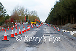 On going roadworks on the Dale Road