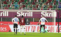 Milano  23-01-2021<br /> Stadio Giuseppe Meazza<br /> Campionato Serie A Tim 2020/21<br /> Milan - Atalanta<br /> nella foto: Ilicic rigore                                                         <br /> Antonio Saia Kines Milano