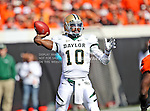 Baylor Bears quarterback Robert Griffin III (10) in action during the game between the Baylor Bears and the Oklahoma State Cowboys at the Boone Pickens Stadium in Stillwater, OK. Oklahoma State defeats Baylor 59 to 24.