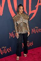 "LOS ANGELES, CA: 09, 2020: Marsai Martin at the world premiere of Disney's ""Mulan"" at the El Capitan Theatre.<br /> Picture: Paul Smith/Featureflash"