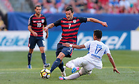 Cleveland, OH - Saturday July 15, 2017: Chris Pontius during a 2017 Gold Cup match between the men's national teams of the United States (USA) and Nicaragua (NCA) at FirstEnergy Stadium.