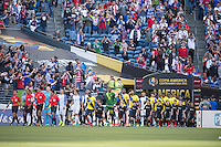Action photo during the match United States vs Ecuador at CenturyLink Field Stadium Copa America Centenario 2016. ---Foto  de accion durante el partido Estados Unidos En el Estadio CenturyLink Field. Partido Correspondiante a los Cuartos de Final de la Copa America Centenario USA 2016, en la foto: Vista General<br /> <br /> --- - 16/06/2016/MEXSPORT/Omar Martinez.