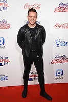 Olly Murs<br /> at the Jingle Bell Ball 2016, O2 Arena, Greenwich, London.<br /> <br /> <br /> ©Ash Knotek  D3208  03/12/2016