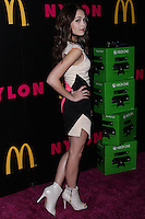 WEST HOLLYWOOD, CA - DECEMBER 05: Kelli Burglund arriving at the Nylon Magazine December 2013/January 2014 Cover Launch Party held at Quixote Studios on December 5, 2013 in West Hollywood, California. (Photo by Xavier Collin/Celebrity Monitor)