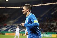 Vedad Ibisevic (Hoffenheim) erzielt das 2:1 und jubelt
