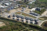 Wohnsiedlung Am Schilfpark: EUROPA, DEUTSCHLAND, HAMBURG, (EUROPE, GERMANY), 18.04.2019: Wohnsiedlung Am Schilfpark