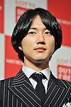 Geoni(Choshinsung, Supernova), Aug 30, 2013 : Tokyo, Japan : Geonil of Korean boy band Supernova attends a press conference for new promotion video of Lotte Duty Free shop in Tokyo, Japan, on August 30, 2013.