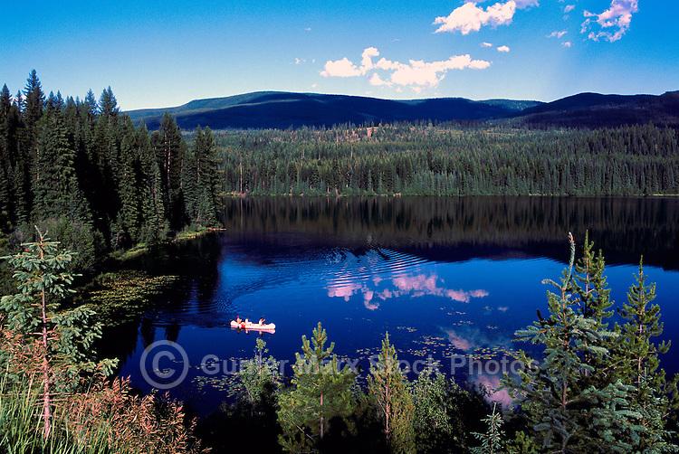 """Nancy Greene"" Lake, ""Nancy Greene"" Provincial Park, Kootenay Region, BC, British Columbia, Canada - along Highway 3, Summer"