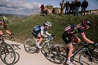 Hannah Barnes (GBR/Canyon-SRAM) & Ruth Winder (USA/Trek-Segafredo)<br /> <br /> 5th Strade Bianche WE (1.WWT)<br /> One day race from Siena to Siena (136km)<br /> <br /> ©JojoHarper for kramon