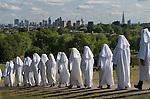 Ancient Order of Druids. Autumn Equinox September 22 Primrose Hill London.