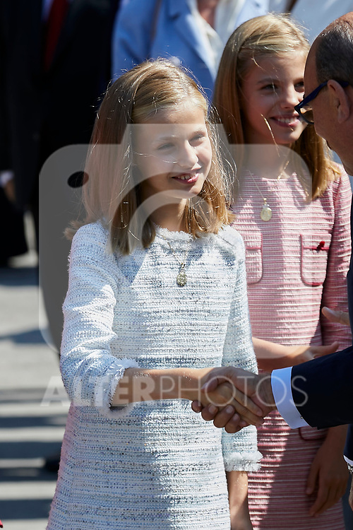 Princess Leonor of Spain visit Covadonga, Spain. September 08, 2018. (ALTERPHOTOS/A. Perez Meca)