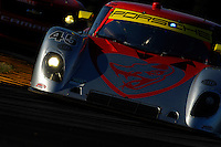 #45 Flying Lizard Porsche/Riley  of Patrick Long, Jorg Bergmeister, Seth Nieman & Johannes van Overbeek