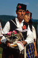 Folklore in Koprivschtiza, Bulgarien