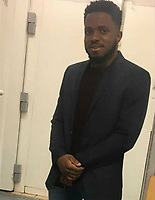 "Pictured: Peter Shodeinde.<br /> Re: Two men who handcuffed another to a radiator for over 24hrs have are due to be sentenced by Cardiff Crown Court, Wales, UK.<br /> Peter Shodeinde and Sochi Ezeemo, both 27, collected the man from Bristol and brought him to a house in Treforest. <br /> Ezeemo contacted the brother of the victim in Nigeria demanding money they said was owed to them. Police in the UK were contacted by the victim's brother telling them about the demands. <br /> When police raided the house where they believed the victim was being held prisoner, they found him injured and handcuffed to a radiator.  <br /> Shodeinde claimed that he was part not of the kidnapping and false imprisonment but evidence presented by the CPS was able to prove that he was. <br /> Kelly Huggins, of the CPS, said: ""The victim suffered appalling treatment whilst being kept prisoner, being beaten, deprived of sleep and enduring acts of humiliation such as shaving off his hair.<br /> ""It is difficult to imagine how frightening this horrible experience would have been for the victim.<br /> ""Now that the case has concluded, we hope it will help him move forward in his healing process."""
