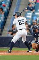 Tampa Yankees third baseman Zachary Wilson #25 during a game against the Lakeland Flying Tigers at Steinbrenner Field on April 6, 2013 in Tampa, Florida.  Lakeland defeated Tampa 8-3.  (Mike Janes/Four Seam Images)