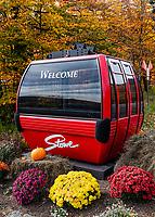 Stowe ski resort.