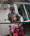 """30/04/16<br /> <br /> Barry Smith and Freya Kirkpatrick.<br /> <br /> THERE'S a new toy shop in town and it's all thanks to an eight-year-old Clifton schoolgirl.<br /> MacLeods of Ashbourne, in Middle Cale just off St John Street, was officially opened by Freya Kirkpatrick on Saturday morning.<br /> Owner Barry Smith said he asked Freya to open the store as she was the one who convinced him that Ashbourne really needed a toy shop, after Lumbards in Victoria Square shut its doors last year.<br /> He said: """"I met Freya in the Smiths Tavern, when she was there with her mum, Jo Roberts, and dad, Rod Kirkpatrick.<br /> """"She started chatting to me about how sad she was that the only toy shop in town had closed because she had nowhere to buy her favourite Sylvanian Families characters.<br /> """"I mentioned that I was thinking of opening a new store in town, and by the end of our conversation she had totally convinced me to go for it and set up the toy shop.""""<br /> The 42-year-old had been looking for a new career after a serious accident ended his long-distance driving job.<br /> Barry, who lives in Ashbourne, has always had a passion for tanks, after spending four years as a trooper in the Royal Tank Regiment, and he said he enjoyed making model tanks in his spare time.<br /> """"I've always been fascinated by tanks, I used to play with them endlessly as a child and as soon as I was 16 I joined the army to learn how to drive them.<br /> """"So it seemed a logical move to open a shop which combined my love of tanks with something Ashbourne desperately needed, so half the store stocks hobby models including tanks, trains and aeroplanes and the other half has traditional kids toys,"""" he said.<br /> Brands sold include Sylvanian Families, Schleich animals, Siku cars and a variety of other games and toys, suitable for all ages.<br /> And Freya definitely approves. <br /> """"I'm really happy now,"""" she said.<br /> """"I was a bit nervous about cutting the ribbon, excited and nervous at the sa"""
