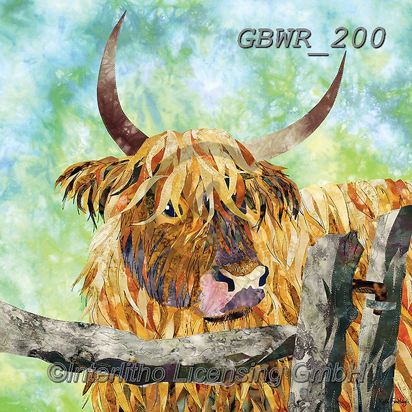 Simon, REALISTIC ANIMALS, REALISTISCHE TIERE, ANIMALES REALISTICOS, innovative, paintings+++++KateF_CowAndGate,GBWR200,#a#, EVERYDAY,cow,bull