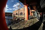 Liverpool Albert Dock - Fisheye