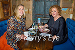Edel O'Sullivan and Anna Marie Flavin enjoying the evening in the Mall Tavern on Thursday.