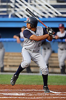 July 4th 2008:  Robi Estrada of the Hudson Valley Renegades, Class-A affiliate of the Tampa Bay Rays, during a game at Dwyer Stadium in Batavia, NY.  Photo by:  Mike Janes/Four Seam Images