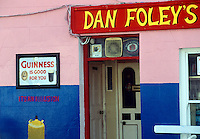 Irish pub, Annascaul, County Kerry, Ireland