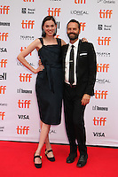 COMPOSER DUSTIN O'HALLORAN AND HIS WIFE - RED CARPET OF THE FILM 'LION' - 41ST TORONTO INTERNATIONAL FILM FESTIVAL 2016
