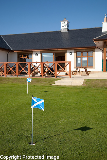 Blackwaterfoot Golf Clubhouse on the Isle of Arran, Scotland