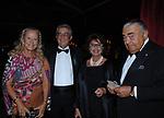 LUIGI E ILVA MAZZELLA CON ETTORE BOSCHI E LA MOGLIE GIOVANNA RALLI<br /> SERATA ORGANIZZATA DAL PROFESSOR VIETTI ALLA CASINA DELL'AURORA ROMA 2007