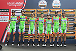 Bardiani CSF at sign on before the start of the 99th edition of Milan-Turin 2018, running 200km from Magenta Milan to Superga Basilica Turin, Italy. 10th October 2018.<br /> Picture: Eoin Clarke | Cyclefile<br /> <br /> <br /> All photos usage must carry mandatory copyright credit (© Cyclefile | Eoin Clarke)
