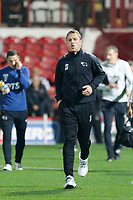 Gary Rowett manager of Derby County seen during the Sky Bet Championship match between Brentford and Derby County at Griffin Park, London, England on 26 September 2017. Photo by Carlton Myrie / PRiME Media Images.