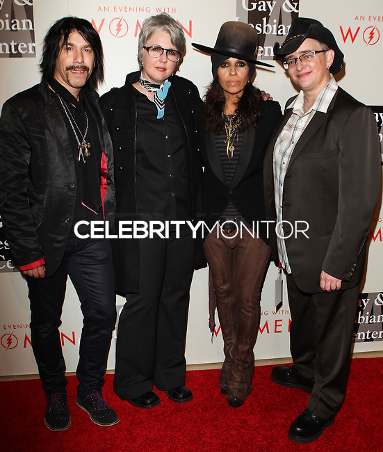 """BEVERLY HILLS, CA, USA - MAY 10: 4 Non Blondes, Linda Perry at the """"An Evening With Women"""" 2014 Benefiting L.A. Gay & Lesbian Center held at the Beverly Hilton Hotel on May 10, 2014 in Beverly Hills, California, United States. (Photo by Celebrity Monitor)"""