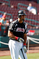 Mauro Gomez  ---  At the annual California League-Carolina League all-star game at the Diamond in Lake Elsinore, CA - 06/23/2009. The game was won by the California League, 2-1, on a walk-off homerun by Lancaster's Jon Gaston..Photo by:  Bill Mitchell/Four Seam Images