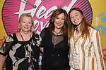 Kathy Valentine with mom and daughter attends the Opening Night Performance After Party for  'Head Over Heels' at Gustavino's  on July 26, 2018 in New York City.