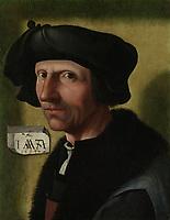 Portrait of Jacob Cornelisz van Oostsanen, Jacob Cornelisz van Oostsanen, c. 1533