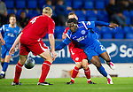 St Johnstone v Morton..24.08.10  CIS Cup Round 2.Collin Samuel is brought down by Nathan Shepherd.Picture by Graeme Hart..Copyright Perthshire Picture Agency.Tel: 01738 623350  Mobile: 07990 594431