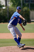 Chris Siegfried - Chicago Cubs - 2009 extended spring training.Photo by:  Bill Mitchell/Four Seam Images