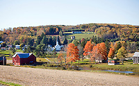 Scenic Western Maryland Fall Color Autumn