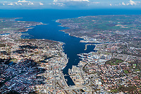 Kiel, Förde, Kieler Förde,  Landeshauptstadt, Stadt, Schleswig-Holstein, Ostsee, Wasser, Meer, Werft, Kieler Woche, Segelrevier