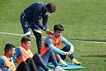 Getafe CF's Take Kubo during training session. February 17, 2021.(ALTERPHOTOS/Acero)
