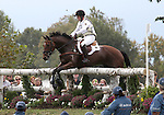 Michael Jung and La Biosthetique-Sam FBW of the Germany compete in the cross country phase of the FEI  World Eventing Championship at the Alltech World Equestrian Games in Lexington, Kentucky.