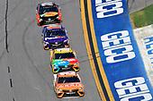 2017 NASCAR Monster Energy Cup Series - Daytona 500<br /> Daytona International Speedway, Daytona Beach, FL USA<br /> Sunday 26 February 2017<br /> Daniel Suarez, ARRIS Toyota Camry, Kyle Busch, M&M's Toyota Camry, Denny Hamlin, FedEx Express Toyota Camry and Martin Truex Jr, Bass Pro Shops/TRACKER BOATS Toyota Camry<br /> World Copyright: Nigel Kinrade/LAT Images<br /> <br /> ref: Digital Image 17DAY2nk14651