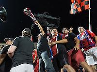Frisco, TX - September 13, 2016: The Lamar Hunt U.S. Open Cup Final. FC Dallas vs the New England Revolution. Final score, FC Dallas 4, New England Revolution 2.