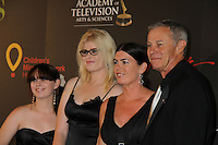 Tristan Rogers and family at the 38th Annual Daytime Entertainment Emmy Awards 2011 held on June 19, 2011 at the Las Vegas Hilton, Las Vegas, Nevada. (Photo by Sue Coflin/Max Photos)