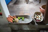 Kitchen at the Hacienda San Lucas, Ruinas Copan, Honduras